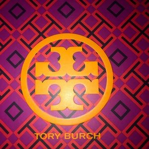 Tory Burch  Platform Sandal Wedge Printed Canvas